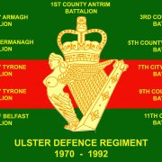 ulster defence regiment souvenirs