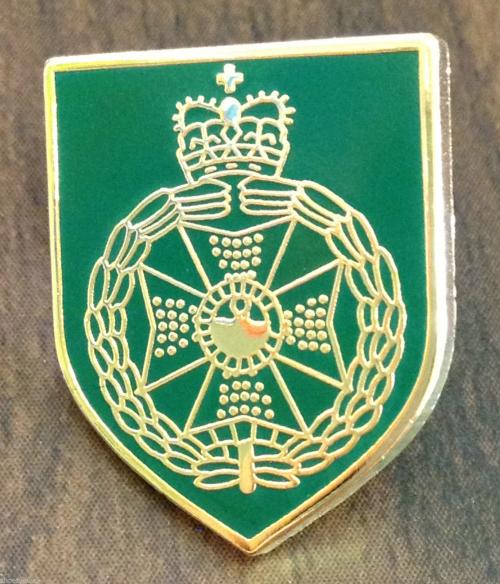 (309) the royal green jackets lapel badge British army